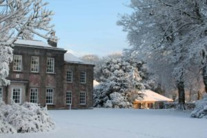 Gramound five - Trewithen House in the Snow